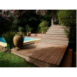 deck para piscinas na Guararema