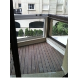 deck para varanda apartamento na Santa Efigênia