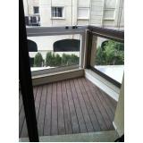 deck para varanda de apartamento pequeno Tanque Grande