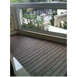 deck para varanda preço Parque Continental