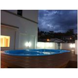 deck piscina WPC preço em Florianópolis