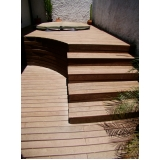 deck PVC imitando madeira preço na Bela Vista