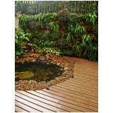 deck PVC madeira Parque do Carmo