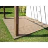 piso deck em PVC