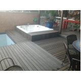 deck ecológico para spa