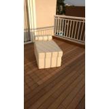 empresa de deck de madeira plástica preço em Alphaville