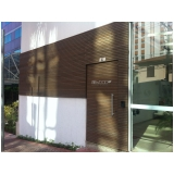 empresa de fachada de madeira ecológica preço em Piqueri
