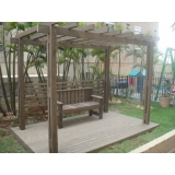 fabricante de deck de madeira plástica preço na Vila Anastácio