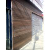 fachada de madeira ecológica na Água Azul