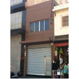fachada de madeira para comercio preço na Consolação