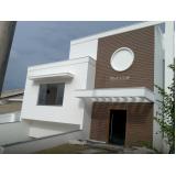 fachada em madeira plástica ecológica preço em Jandira