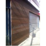 fachada em madeira plástica preço Campo Grande