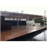 madeira de plástico WPC Jardim Iguatemi