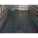 madeira ecológica para assoalho de caminhão Cambuci