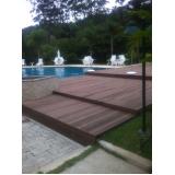 madeira ecológica para deck no Parque Peruche