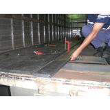 madeira plástica para assoalho de caminhão baú preço na Santa Cecília