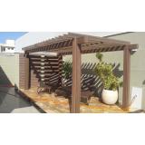 madeiras de plásticos para telhados Limão