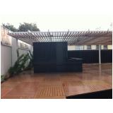 madeiras ecológicas para telhados no Ibirapuera
