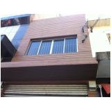 madeira para deck fachada