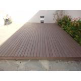 madeiras plásticas para deck de piscinas Rio Grande da Serra