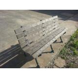 onde encontrar banco de madeira ecológica plástica em Amparo