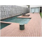 onde encontrar deck de madeira ecológica para piscina em Itatiba