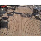 onde encontrar deck de madeira ecológica Jardim Aracília