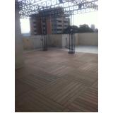 onde encontrar deck de madeira plástica modular na Santa Cecília