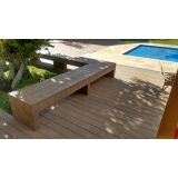onde encontrar deck de plástico madeira ecológica Cambuci