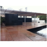 onde encontrar deck modular de madeira Jockey Club