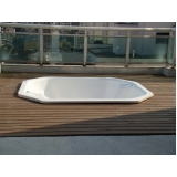 onde encontrar deck para piscina de madeira plástica Jaguaré