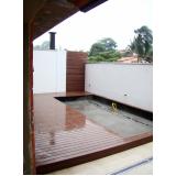 onde encontrar deck para piscina residencial na Água Azul