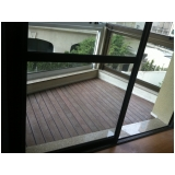 onde encontrar deck para varanda de apartamento pequeno na Água Chata