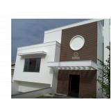 onde encontrar fachada de madeira plástica ecológica na Vila Galvão