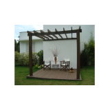 onde encontrar kit pergolado de madeira plástica na Vila Leopoldina