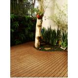 onde encontrar piso deck de madeira em SP em Recife