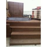 onde encontrar piso deck em PVC na Ibirapuera