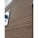 onde encontro empresa de madeira plástica para fachada Alto de Pinheiros