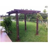 pergolado com material plástico Jardim Iguatemi
