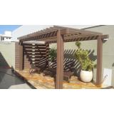 pergolado imitando madeira preço Jardim Iguatemi