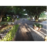 piso deck de madeira ecológica preço na Santa Cecília
