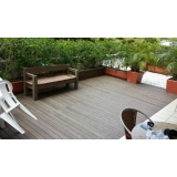 piso deck de madeira ecológica Porto Velho
