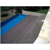 piso deck de madeira na Cotia