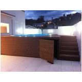 piso deck para piscina em SP preço Parque do Carmo