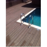 piso deck para piscina na Água Branca
