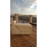 piso em deck de madeira preço Suzano