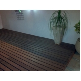 piso deck de madeira em São Paulo