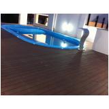 piso tipo deck de madeira