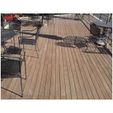 pisos deck de madeiras na Mooca