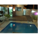 pisos deck de piscinas PVC em Jundiaí